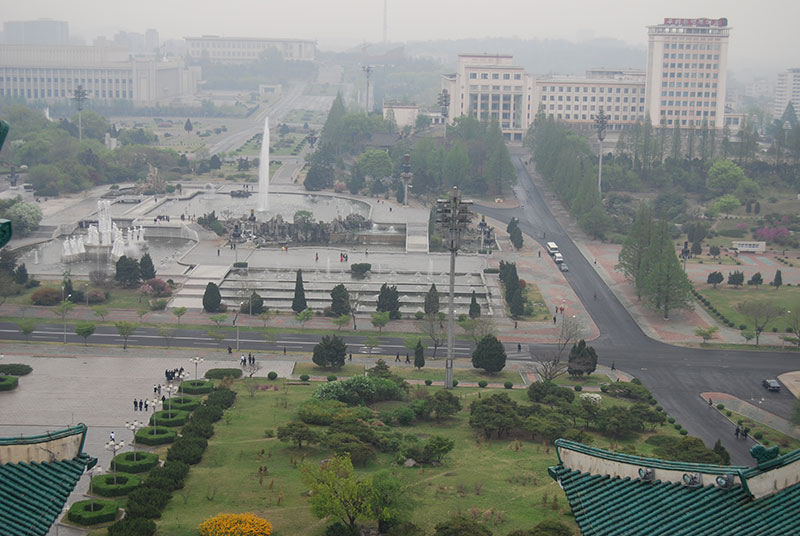 Centre of Pyongyang