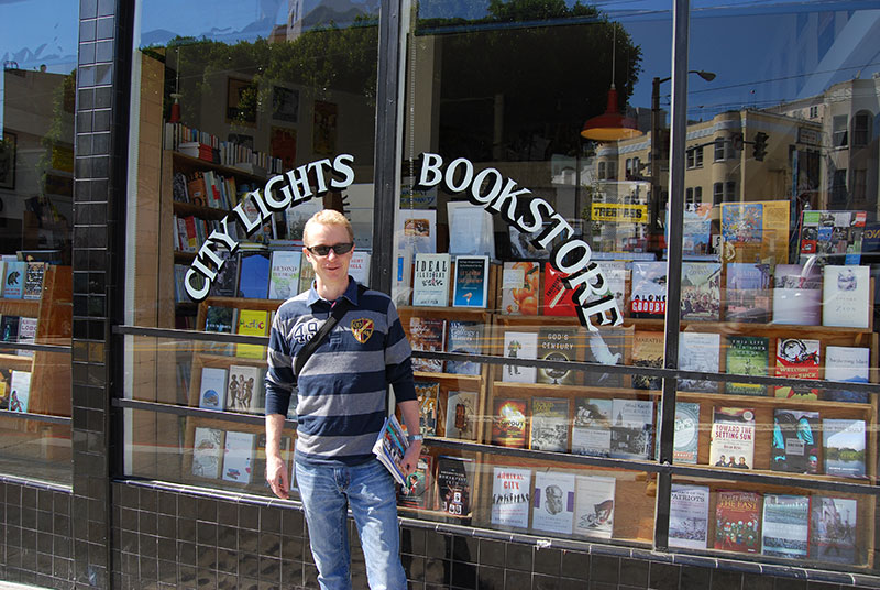 City Lights Bookshop in San Francisco