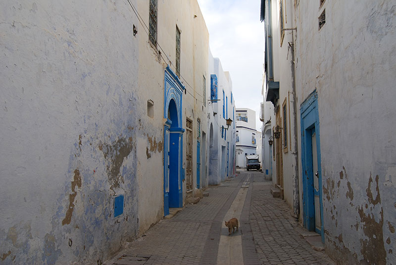 Narrow-alleys-in-Kairouan