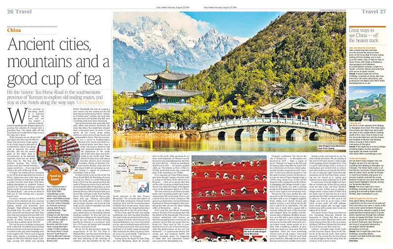 China: Ancient cities, mountains and a good cup of tea